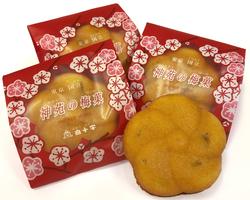 神苑の梅菓 8個入り(箱詰め)